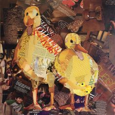 ducks from magazine pages charla steele