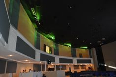 Acoustic Panels and lighting installed at Destiny Church