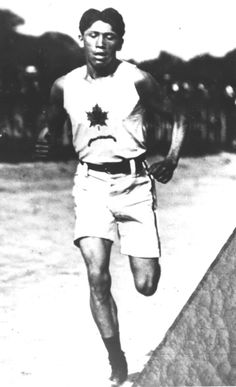 Tom Longboat was the first Native American to win the Boston Marathon, and held a record time, 1907. He won the Olympic marathon re-match in 1909, proving his abilities despite his racial background. Longboat was enrolled in Mohawk Institute Residential School at age 12 because of his Onondaga descent. Longboat is now in Canada's Sports Hall of Fame, the Indian Hall of Fame, and the Ontario Sports Hall of Fame, although his coaches did not support his training techniques at the time.