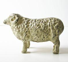 Vintage Cast Iron Lamb