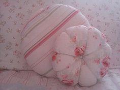 Shabby Chic Cushions. (My work)