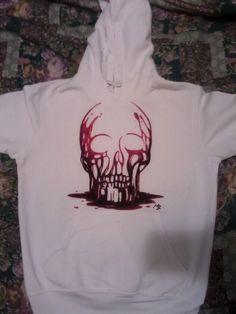 felpa blood skull