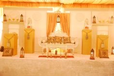 MOROCCAN WEDDING STAGE