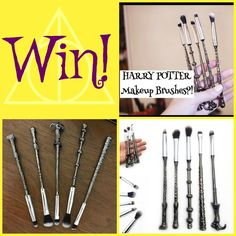 Win a set of Harry Potter make up brushes - http://www.competitions.ie/competition/win-set-harry-potter-make-brushes/
