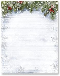 Amazon.com: PaperDirect Silver Foil Snowy Sentiment Border Papers, 8.5 x 11, 100 Count: Arts, Crafts & Sewing Cute Christmas Wallpaper, Holiday Wallpaper, Winter Wallpaper, Christmas Background, Christmas Photography Backdrops, Christmas Backdrops, Christmas Decorations, Noel Christmas, Christmas Photos