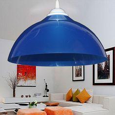 Simple Restaurant Pendant Lamp Shade Single Color Creative Lighting 100 220V PVC Colorful lampshade-in Pendant Lights from Lights & Lighting on Aliexpress.com | Alibaba Group