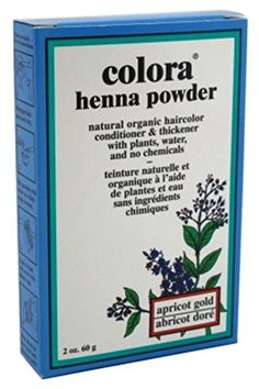 Colora Henna Powder Hair Color Apricot Gold 2oz (2 Pack) ** Check this awesome product by going to the link at the image.