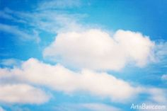 How to Paint Gorgeous Clouds with Watercolor Paints - 5th and 6th Grade Art is Basic