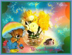 Urodziny i imieniny: Gify urodzinowe Beautiful Roses, Happy Birthday, Painting, Flowers, Happy Brithday, Urari La Multi Ani, Painting Art, Happy Birthday Funny, Paintings