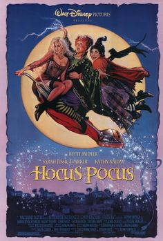 Disney may be developing Hocus Pocus Rise of the Elderwitch. The original Hocus Pocus starred Bette Midler, Kathy Najimy and Sarah Jessica Parker. Película Hocus Pocus, Hocus Pocus 1993, Hocus Pocus Movie, Family Friendly Halloween Movies, Best Halloween Movies, Holiday Movies, Bette Midler, Walt Disney Pictures, Disney Films