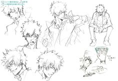 Psycho-Pass ~~ Character designs :: Kogami (2 of 2)
