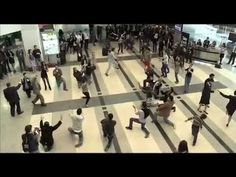 Beirut Duty Free Rocks Airport with Dabke Dance - Flash Mob~I would have loved to have been there!! | دبكة في مطار بيروت