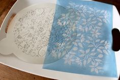 Stencils- great airbrushing tips ~ works great for cookies, cupcakes and cakes.