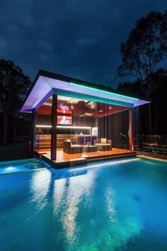 Outdoor Kitchen And Pool Backyard. Home Architecture Design Features Cool Outdoor Living . Home and Family Future House, Design Exterior, Luxury Pools, Luxury Swimming Pools, Luxury Spa, Luxury Decor, Luxury Interior, Dream Pools, Swimming Pool Designs