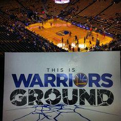 Way up here at #warriorsground
