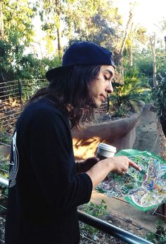 """ 51/100 pictures of Vic Fuentes ruining my life. + """