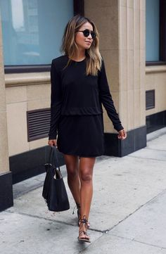 'Savoy' Long Sleeve Shirtdress....So chic, but yet so effortless!