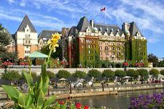 The Empress Hotel, Victoria BC Canada
