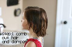 Hair Today: Growing Out Bangs...Triple Dutch Braids