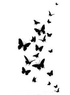 Wall stencil Butterfly Dance Easy Wall Stencil for Nursery Decor. Blue Butterfly Wallpaper, Butterfly Stencil, Flower Wallpaper, Wallpaper Backgrounds, Butterfly Tattoos, Inspirational Wallpapers, Cute Wallpapers, Powerpoint Design Templates, Simple Mandala