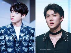 """Hai chàng maknae của BTS và EXO chính là minh chứng cho câu nói """"ai rồi cũng khác"""""""