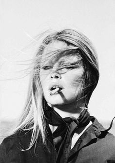 Brigitte Bardot    shot by Terry O'Neill on the set of Frenchie King, 1971