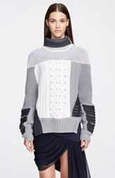 Prabal Gurung Mixed Intarsia Knit Sweater uptown nordstom