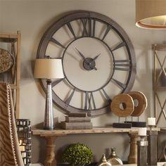 Uttermost Ronan Wall Clock, Large