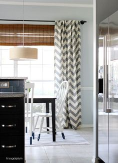 Wonderful The Blissful Bee: DIY Painted Chevron Curtains | When I Have A Spare Moment  | Pinterest | Chevron Curtains, Paint Chevron And Window