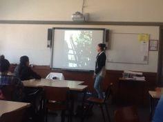 """project """"verborgen armoede in de wijk"""" presentatie van de leerlingen. middelbare school, Burgerschap."""