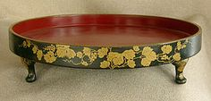 Lacquer tray--Edo period, about 1860
