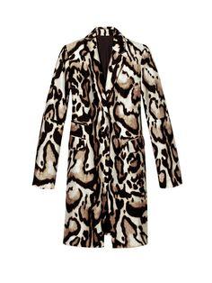 MUST: Diane von Furstenberg silk wool coat, $598