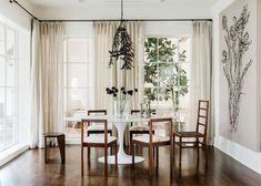 Interior designer Margaret Naeve Parker of M Naeve combines contemporary pieces with antiques f...