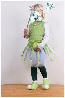 sticKUHlinchen: DIY Tinkerbell Kostüm für Mädchen