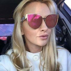 $5.70 (Buy here: https://alitems.com/g/1e8d114494ebda23ff8b16525dc3e8/?i=5&ulp=https%3A%2F%2Fwww.aliexpress.com%2Fitem%2FNewest-Oversized-Sunglasses-Women-Brand-Designer-Cat-eye-Sun-glasses-Classic-Retro-Style-Female-Alloy-Big%2F32700021493.html ) Newest Oversized Sunglasses Women Brand Designer Cat eye Sun glasses Classic Retro Style Female Alloy Big Frame Mirror Sunglass for just $5.70
