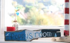 Driftwood Sign Personalised Room Sign by TheLazyBeach on Etsy