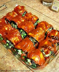 Vegan Eggplant Rollups - a delicious dinner that both vegans and non-vegans love! My go-to recipe for family gatherings, potlucks, and whenever I'm craving some Italian food.