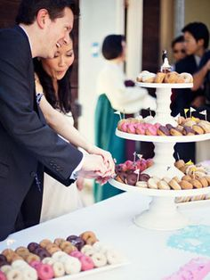 15 Creative Menu Ideas    There's so much more to wedding food than chicken and potatoes. From bubble bars to soup shooters, spice up your reception with one of these unique ideas.