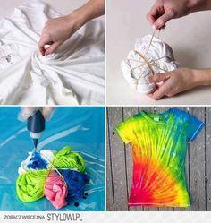 Farbujemy bluzeczkę? Jakie to proste i efektowne