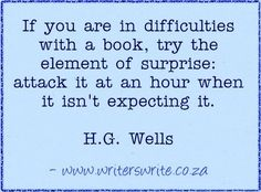 Quotable - HG Wells - Writers Write