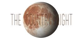 Graphic design logo moon countrynight