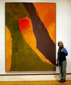 Helen Frankenthaler piece. LOVE!