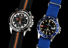 Tudor Heritage and Rolex GMT-Master