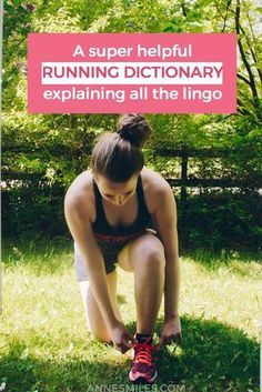 Explaning all the weird terms runners use, like LSD, fartlek and some basic running science!