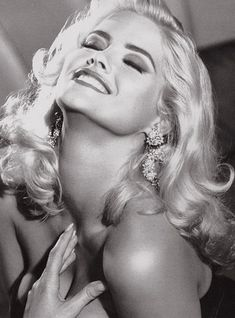 Anna Nicole Smith - she had problems, no doubt about it, but she was a beauty