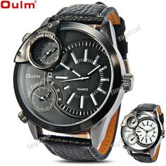 http://www.tinydeal.com/it/oulm-3-movt-quartz-watch-w-genuine-leather-band-p-115108.html  (OULM) 3-Movt Quartz Watch Analog Wristwatch Timepiece with Genuine Leather