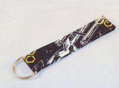 Star Trek keychain key fob wristlet lanyard