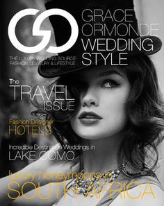 Grace Ormonde Wedding Style 2012: Digital Issue Cover    Photography: Phototerra Studio