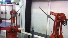 гифки, приколы, интересное, мастерство, роботы, мечи