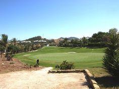 Green hoyo 2, campo norte, la manga club, Murcia, España.